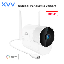 Xiaovv Outdoor Camera Panoramic Webcam 1080P 150° Wide Angle Surveillance Cam WIFI High-definition Night Vision For Mi Home App