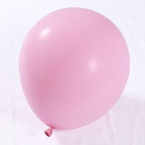 Image 2 - 100 pcs/Set Rosa Weiß Gold Luftballons Arch Garland Baby Dusche Bachelorette Geburtstag Partei Hintergrund Chrom Balon Dekoration Globos