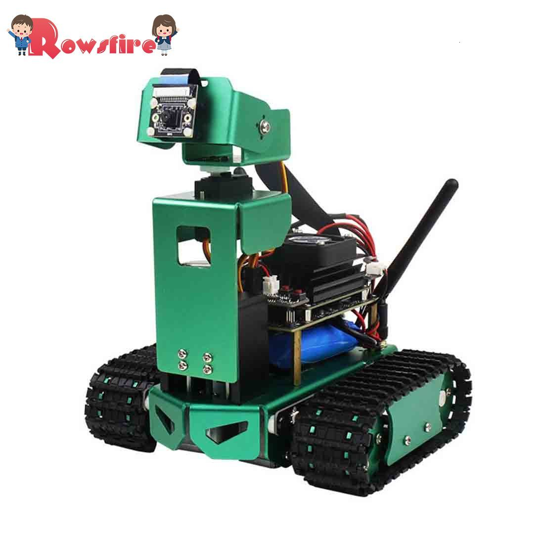 Artificial Intelligence Car DIY 3DOF Robot Car Kit With/Without Development Board For Jetson Nano (Adjustable Height)
