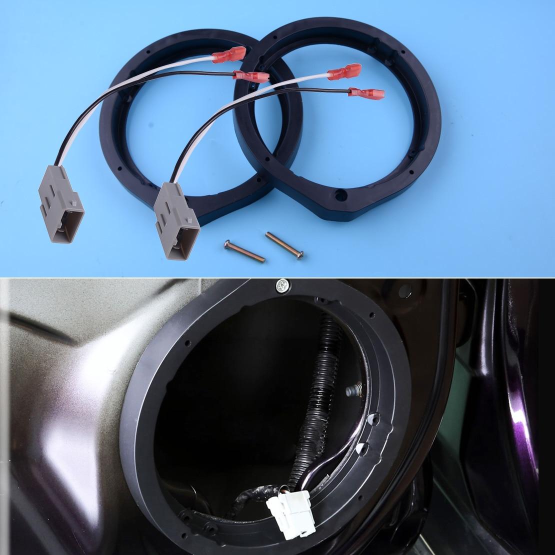 Адаптер для колонок CITALL, 2 шт., 72-7800, 6,5/6,75 дюйма, 165 мм, с проводным ремнем, подходит для Honda Civic Accord, Crosstour, Insight, с функцией «Crosstour» и «Insight»