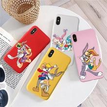 Coque en Silicone souple coloré de luxe pour iPhone, compatible modèles 6, 7, 6plus, X, XR, XS, XSMAX