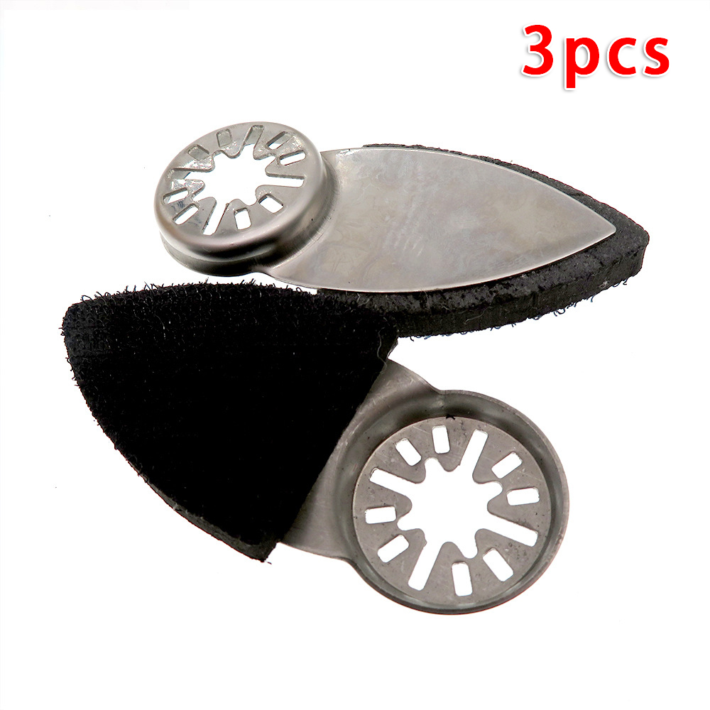 Grinding Finger Sanding Pad Power Tool Saw Disc Multifunctional 38 * 86mm 3pcs Attachment Pad For Multi-tool Sanding.