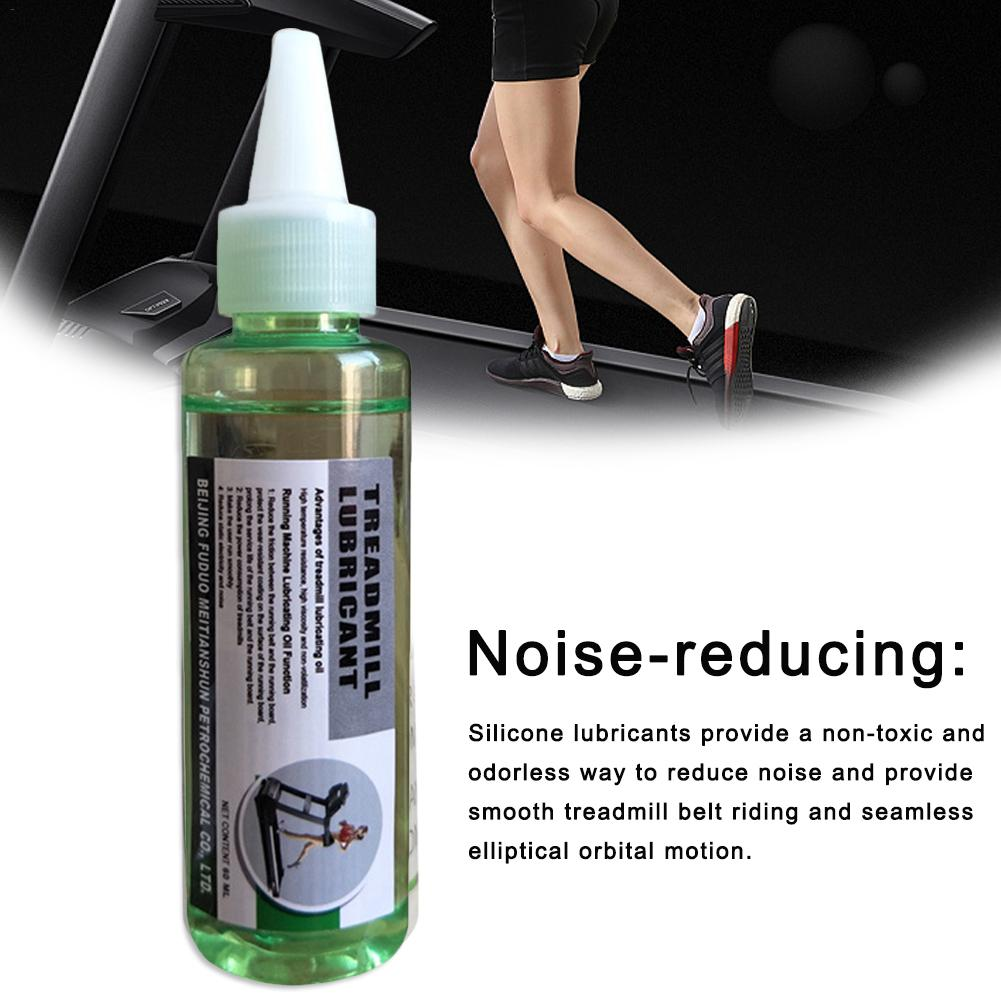 Treadmill Lubricant Treadmill Maintenance Oil Silicone Oil 60ML Gym Accessories Mechanical Maintenance Tool Lubricating Oil