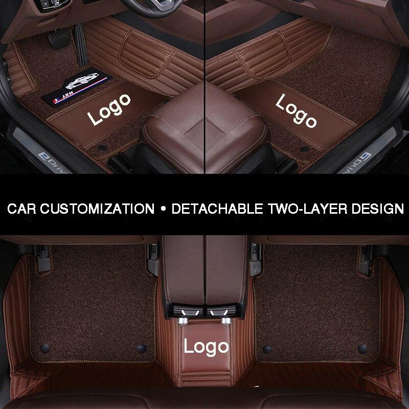 Hlfntf Full Surround Car Floor Mat For Chrysler 300c Grand Voyager