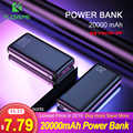 FLOVEME 20000 mAh Power Bank para Xiaomi mi iPhone 20000 mAh Dual USB cargador de batería externa portátil Poverbank