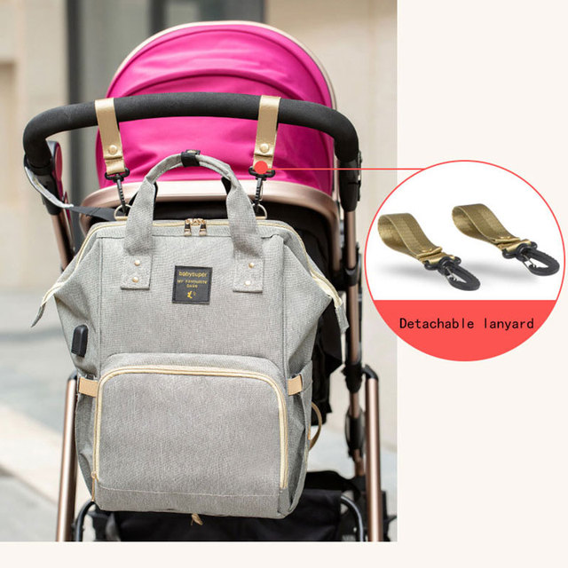 Maternity nappy Bag Waterproof Multi pocket Nursing Bag for Baby Care