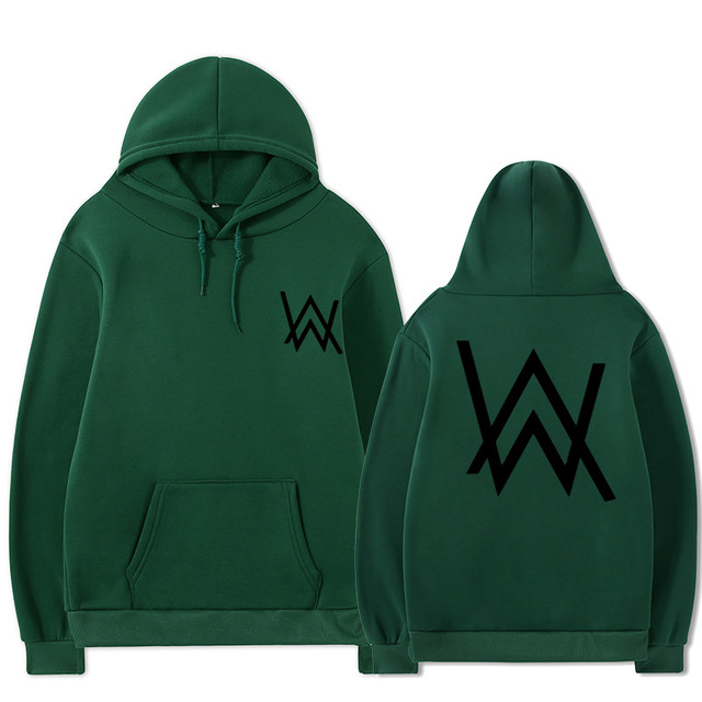 2021 Fall/Winter Alan Walker Hoodie Couple Loose Large Size Wild Casual Men and Women Pullover 6