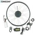 Когда-нибудь Электрический велосипед конверсионный Комплект 36V 500W передний weel бесщеточный мотор эпицентра деятельности e-велосипед с диспл...