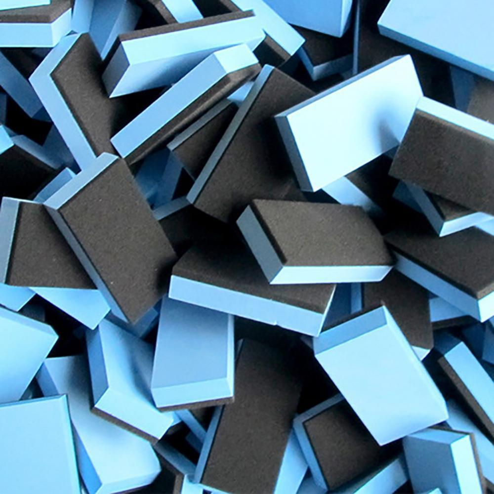 10 шт. автомобиль Керамика покрытие губка Стекло воск пальто аппликатор полировальными колодками губки RV Запчасти аксессуары