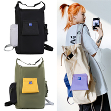 Women's Backpack Unique School-Bag Youth Large-Capacity White Personality Unisex Student