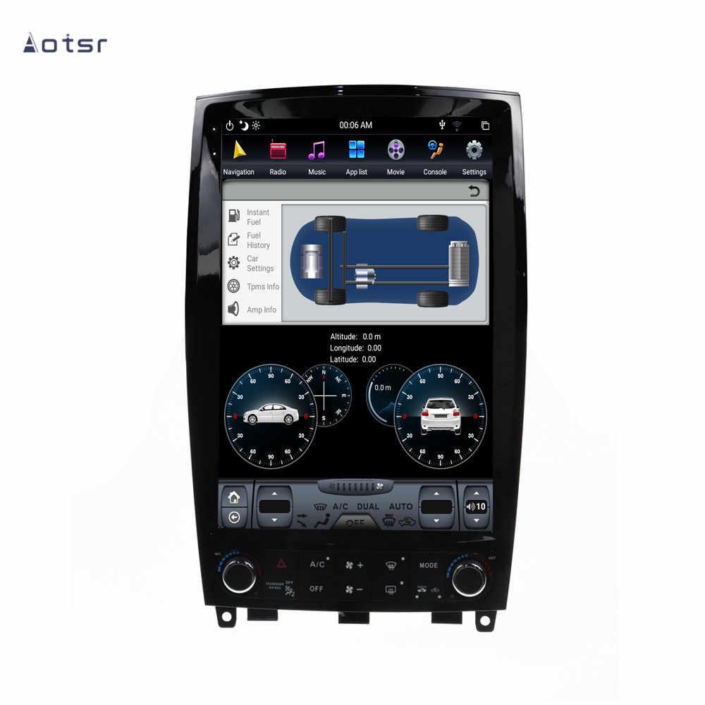 Android 9.0 Tesla stil GPS navigation für Infiniti QX50 EX25 EX35 2008-2015 Auto Radio Coche Vertikale Bildschirm Multimedia-Player