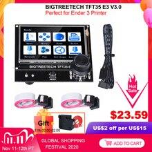 BIGTREETECH TFT35 E3 V3.0 شاشة تعمل باللمس 12864 شاشة الكريستال السائل Wifi TFT35 ثلاثية الأبعاد أجزاء الطابعة ل Ender3 ترقية CR10 SKR MINI E3 مجلس