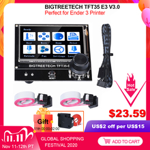 BIGTREETECH TFT35 E3 V3.0 Touch Screen 12864 LCD Display Wifi TFT35 3D Printer Parts For Ender3 upgrade CR10 SKR MINI E3 Board