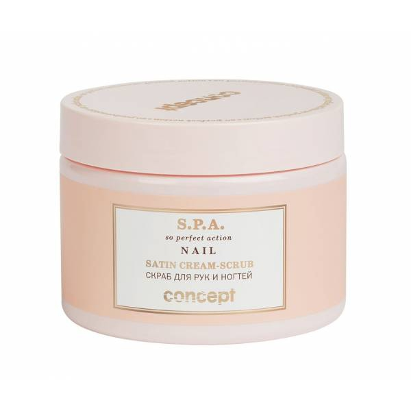 Hand And Nail Scrub Concept, 38328 , (Satin Cream-scrub), 350 Ml