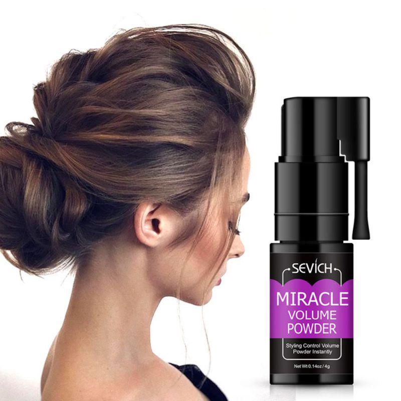 Пушистый Тонкий порошок для волос увеличивает объем волос захватывает стрижку унисекс моделирование укладки волос спрей воск для волос