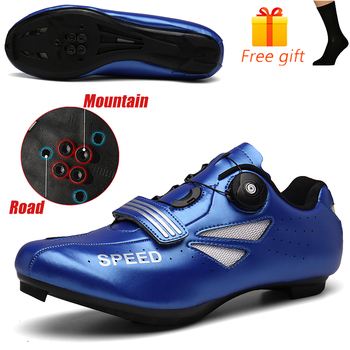 Discolor Cycling Shoes Man MTB Mountain Bike Shoes SPD Cleats Road Bicycle Shoes Sports Outdoor Training Cycle Sneakers 20