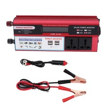 DC12V To AC 220-240V Car Inverter 6000w Solar Power Converter 4usb Multifunctional Mobile Phone Charger For Car Marine(China)