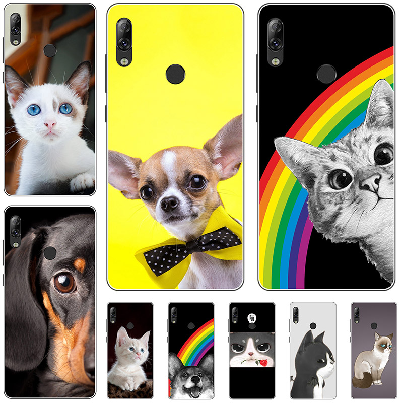 Silicone Phone Case Cover For <font><b>Lenovo</b></font> <font><b>K5</b></font> <font><b>Pro</b></font> <font><b>L38041</b></font> 5.99inch Case Cute Cartoon Print Soft Back Cover For <font><b>Lenovo</b></font> <font><b>K5</b></font> <font><b>Pro</b></font> Cases image