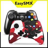 2PCS EasySMX KC-8236 Gamepad Wireless Joystick Controller per PS3 PC Android TV Box Smartphone Joypad controllo delle vibrazioni
