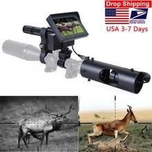 나이트 비전 Riflescope 사냥 범위 시력 카메라 적외선 LED IR 지우기 비전 범위 소총 야간 사냥을위한 장치