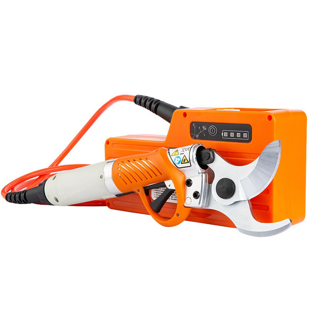 Electric Shears Portable 450W Electric Pruner 4400mah Lithium Battery Rechargeable Garden Grafting Secateurs Scissors For Plants