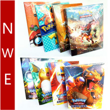240 шт. держатель Альбом для Pokemon держатель для карт книга альбом список игрушек Gx Francaise карточная коробка игра Покемон держатель для карт Чехол для карт
