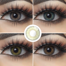 Color-Contact-Lenses Makeup-Eye-Contacts Eyes Eyes-Color-Lot Beautiful Natural 2pcs