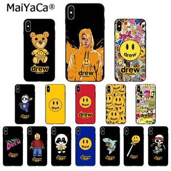 MaiYaCa Luxury brand Drew House Justin Bieber High Quality Phone Case for iPhone 11 pro XS MAX 8 7 6 6S Plus X 5 5S SE XR SE2020 image