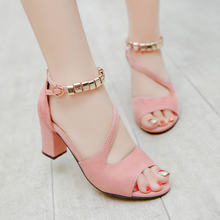 2021Summer Women's Sandals New Women's Shoes Fish Mouth Sandals Fashion Casual High Heels Open Toe Comfort Outside Shoe
