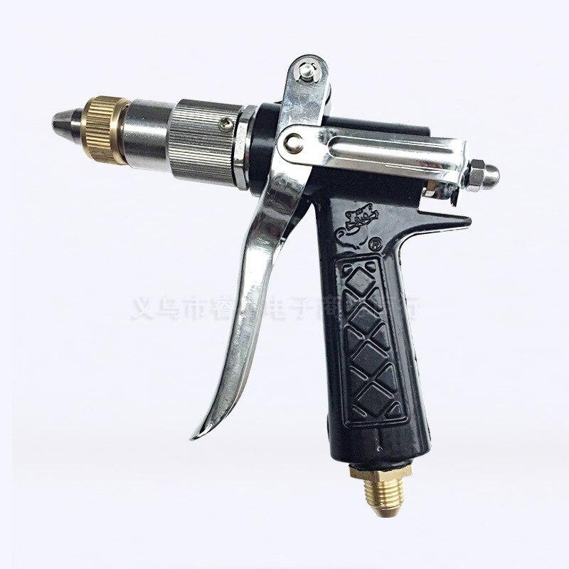 Electroplated 280 Cleaning Gun Chrome High Pressure Gun Car Washing Gun