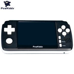 "Image 2 - Powkiddy Q80เกมคอนโซลวิดีโอย้อนยุคโทรศัพท์มือถือ3.5 ""IPSหน้าจอBuilt In 4000เกมเปิดระบบPS1จำลอง48Gเกมใหม่"