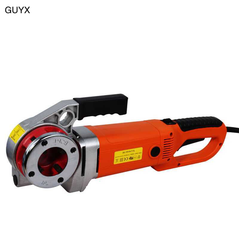 Portable Hand-held Electric Threading Machine Reaming Hinge Threading Galvanized Pipe Iron Pipe