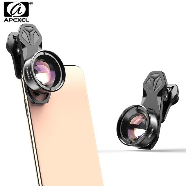 APEXEL 100mm obiektyw makro aparat telefon obiektyw 4 K HD Super makro soczewki CPL filtr gwiazdkowy dla iphone xs max samsung s9 wszystkich smartfonów