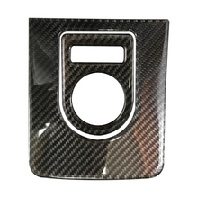 Carbon Fiber Gear Shift Panel Trim Cover Decal Frame Car Accessories for XF XE XJ F-PACE F-TYPE E-Pace I-Pace