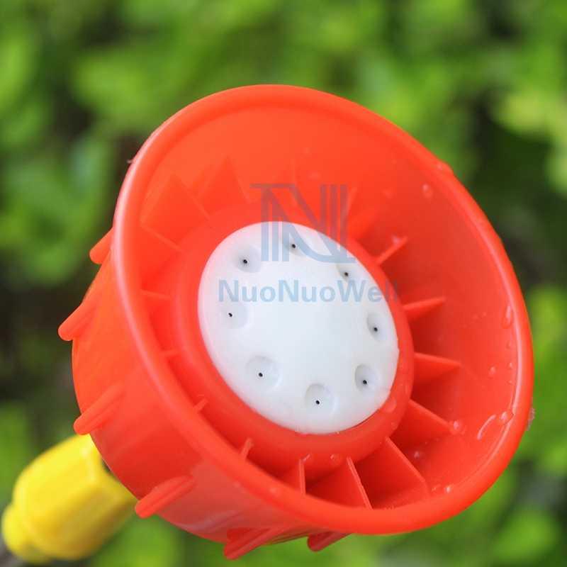 3 rodzaje niebieska dysza opryskiwacza w kształcie wachlarza miedź rolnicza M14 * 1.5 gwint żeński dysza kwiat ogrodowy zraszacz do nawadniania drzew