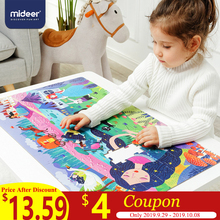 MiDeer 104pcs Puzzles for Kids Jigsaw Puzzle Toy Babys Intellectual Combination Paper Gift Box >3 Years Old