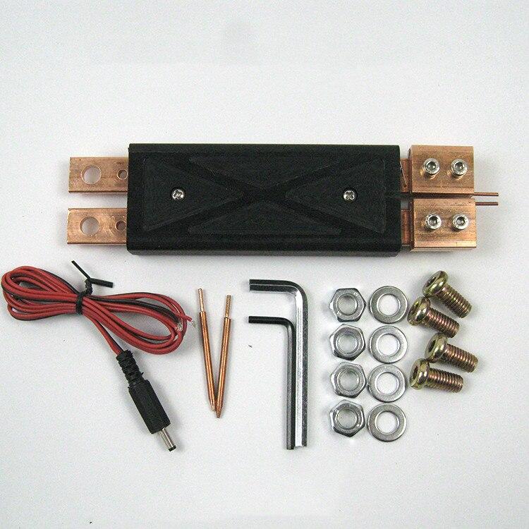 Machine à souder intégrée stylo de soudage par points portable avec interrupteur à gâchette 18650 batterie soudeuse par points outils de soudage par points