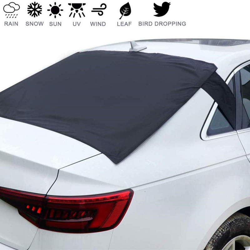 Universal Anti frost Anti fog Car Sun Protector Magnetic Car Rear Windscreen Snow Ice Shield Cover|Windshield Sunshades| |  - title=