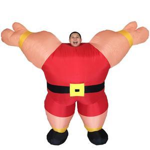Image 3 - Costume gonflable pour entraîneur personnel, combinaison fantaisie pour hommes et femmes adultes fête dhalloween carnaval Cosplay