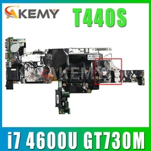 for Lenovo Thinkpad T440S notebook motherboard VILT0 NM-A051 CPU i7 4600U GPU GT730M 100% test work FRU 04X3977 04X3975 04X3973