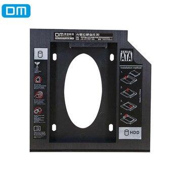 DM Internal Optical Drive Bracket 9.5mm SATA SSD HDD Enclosure Caddy Bay Adapter Box Bracket Holder For Notebook Laptop CD DVD