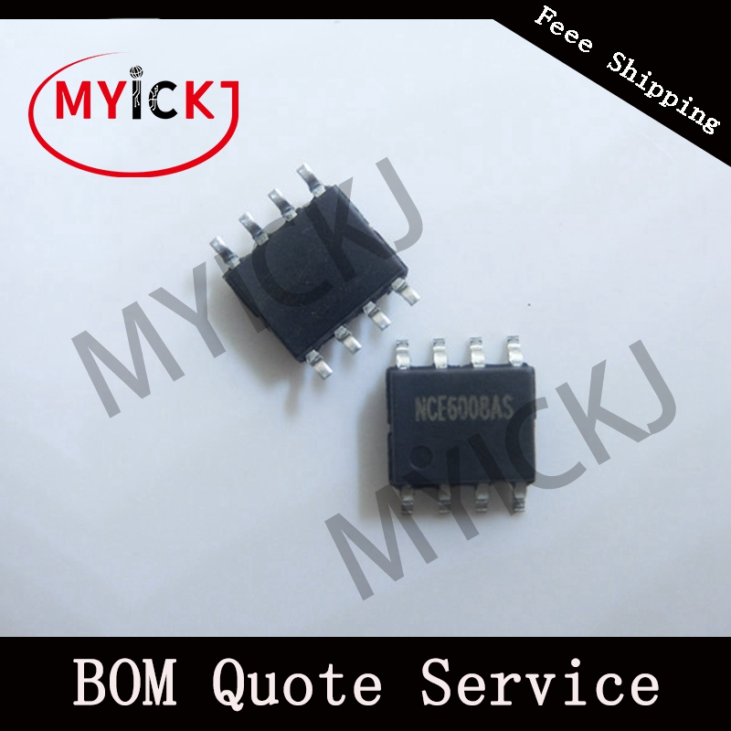 5PCS NCE6008AS SOP-8    NCE N-Channel Enhancement Mode Power MOSFET IC CHIP