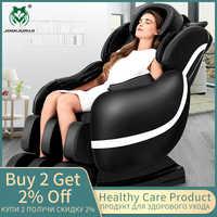 JinKaiRui eléctrico salud cuidados silla de masaje de gravedad cero Multi-funcional 3D de cuerpo completo dispositivo relajación muscular Massagem sofá