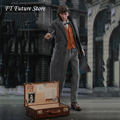 Hot Toys HT MMS512 In Stock Collectible 1/6 Scale Full Set Newt Scamander Action Figure Model with Weapon for Fans Gifts