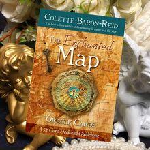 Carte Oracle personnalisée en anglais, la carte enchantée, carte magique