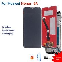Orijinal onur 8A JAT L29 LCD ekran dokunmatik ekran Digitizer meclisi için Huawei onur 8A JAT L29 LCD ekran