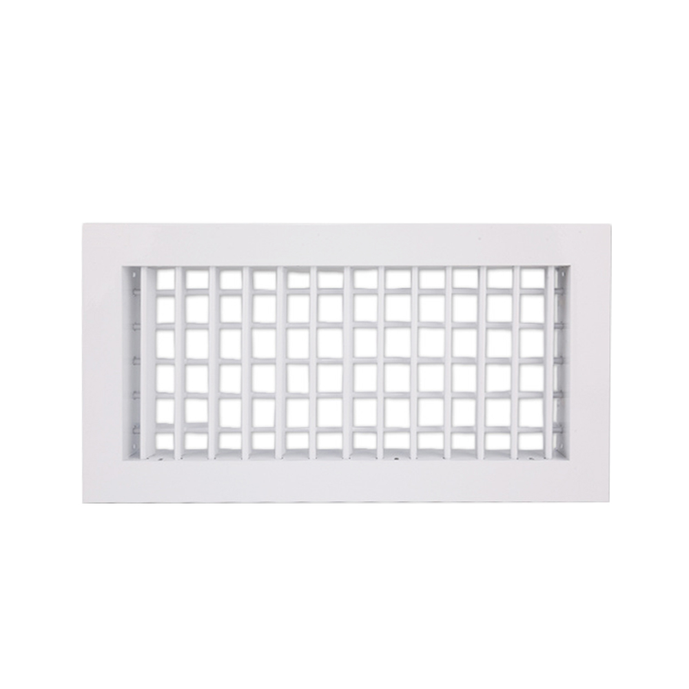 Double Layer Shutter Air Conditioner Air Outlet Aluminum Alloy Air Outlet Grille Air Outlet