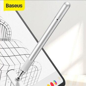 Baseus стилус для рисования Ручка для Apple iPhone iPad Pro двойная с помощью емкостного сенсорного пера для смартфона планшета samsung ручной стилус