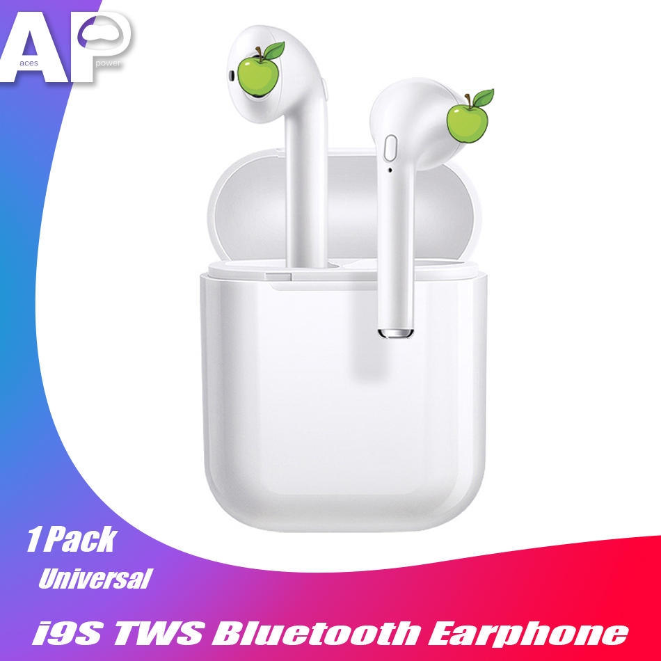 Acespower Cheap Wireless Earphone Bluetooth 5.0 Earpiece with Charging Box I9s Tws Mini Earbuds Mic Sport Smart Phone Headphone image