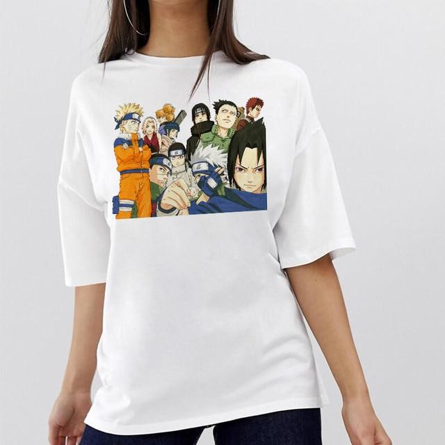 Naruto Men/women T Shirt Summer 2020 Hiphop Streetwear Camiseta De Hombre Camiseta Mujer Funny T Shirt Top Tee Homme Tee Shirt